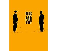 Hiding In Plain Sight 2 - Breaking Bad Photographic Print