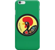 Symbols of Portugal - Rooster Nr. 02 iPhone Case/Skin