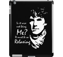 Sherlock - Relaxing iPad Case/Skin