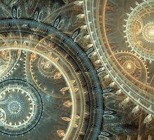 Inside the clock by MartinCapek