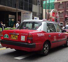 Hong Kong Urban Taxi by sailgirl