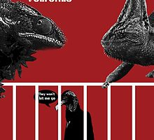 Them Crooked Vultures - Reptiles by ickyorchid