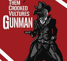 Them Crooked Vultures - Gunman by ickyorchid