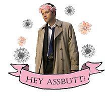 Hey Assbutt! by castielbitches
