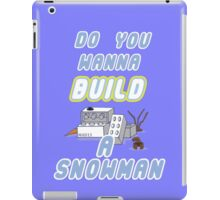 Winter Build iPad Case/Skin