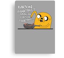 Makin' Bacon Pancakes Canvas Print