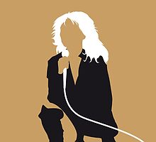 No030 MY Blondie Minimal Music poster by Chungkong