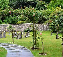Churchyard of St Mary, Bibury, Gloucestershire by Photography  by Mathilde