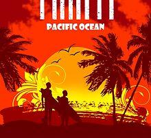 TAHITI Tropical Paradise Island by dejava