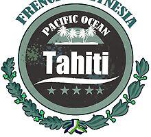 TAHITI Round Emblem by dejava