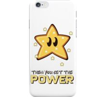 Mario Bros. Scarface - Money Power Woman iPhone Case/Skin