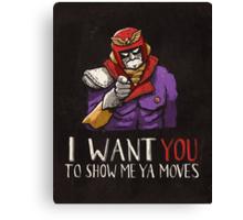 Show Me Ya Moves Canvas Print