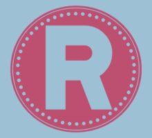 Chevron Letter R Kids Clothes