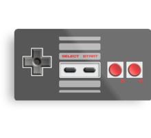 NES Controller Metal Print