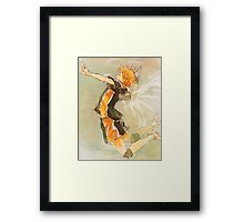 Haikyuu!! Spike Framed Print