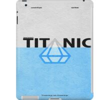 Titanic iPad Case/Skin
