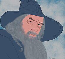 Gandalf by stewartwarner