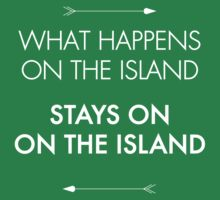 What Happens on the Island, Stays on the Island by jacquipainter