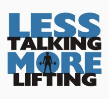 Less Talking More Lifting by FireFoxxy