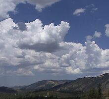Summer Cloud Panorama by MarkArTurner