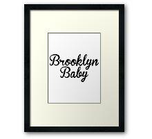 Lana Del Rey / Brooklyn Baby Framed Print