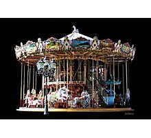 Historic Two-Stage Carousel Photographic Print