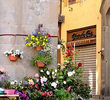 Vendors in Lucca by Cristy Hernandez