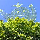 Happy Tree Monster by Noelle Gravlee