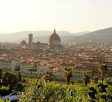 The Piazza Michelangelo by Cristy Hernandez
