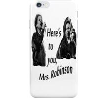 Simon & Garfunkel-Mrs. Robinson iPhone Case/Skin