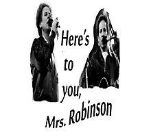Simon & Garfunkel-Mrs. Robinson Photographic Print
