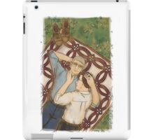 Wedding quilt iPad Case/Skin