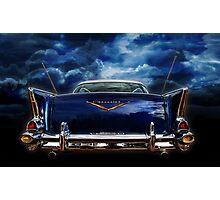 57 blue Photographic Print