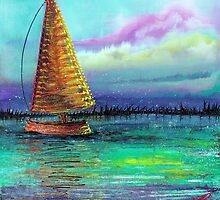 Sailboat Cruise by Laura Barbosa