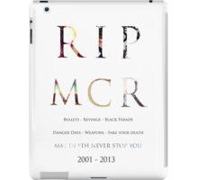 RIP MCR iPad Case/Skin