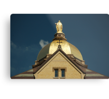 Golden Dome-University of Notre Dame Metal Print