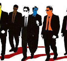 Reservoir Dogs Color by DUNEJACOB