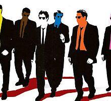 Reservoir Dogs Color by DUNEJACOB