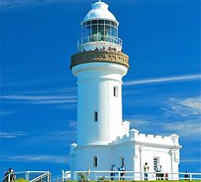 Cape Byron Lighthouse by Penny Smith