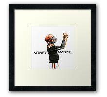 "Johnny Manziel - ""Money Manziel"" Framed Print"