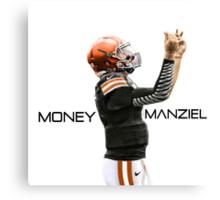 "Johnny Manziel - ""Money Manziel"" Canvas Print"