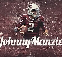 Johnny Manziel Texas A&M Design by RhinoEdits
