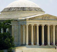 Jefferson Memorial Side by Cristy Hernandez