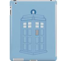 Vanishing TARDIS Outline iPad Case/Skin