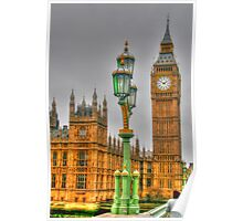 The Tower Of Big Ben Poster