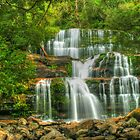 Liffey Falls in HDR by Michael Matthews