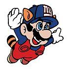 Super NFL Bros. - Giants by VectorTony