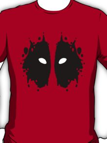 Deadpool Rorschach Test T-Shirt
