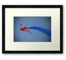 Red Arrow Singleton - Farnborough 2014 Framed Print