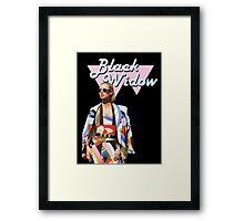 Iggy Azalea / Black Widow Framed Print